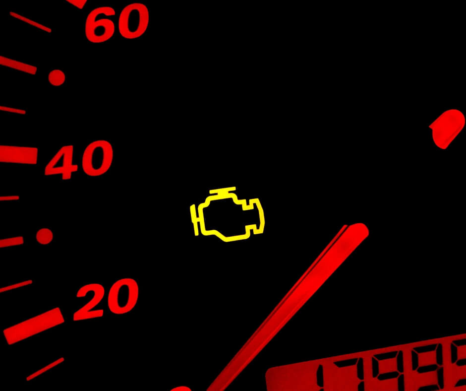 5 Common Reasons For The Check Engine Light To Come On Are: